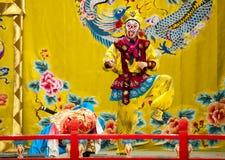 Desempenho famoso da ópera do rei do macaco imagem de stock royalty free