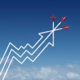 Desempenho financeiro Imagem de Stock