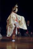 DESEMPENHO JAPONÊS DA FASE Fotos de Stock Royalty Free