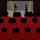Desempenho teatral na fase Imagem de Stock Royalty Free