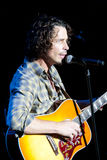 Desempenho vivo de Chris Cornell fotografia de stock royalty free