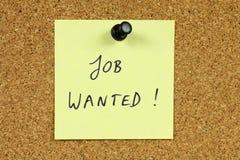 Desempleo Fotografía de archivo libre de regalías