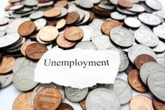 Desempleo Foto de archivo libre de regalías