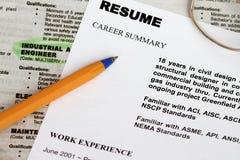 Desemprego Imagem de Stock