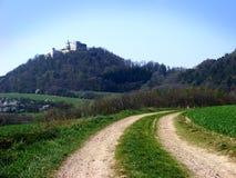 Desengate ao castelo Fotos de Stock Royalty Free