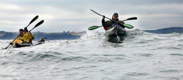 Desengate da canoa da caridade - Bornholm Foto de Stock Royalty Free