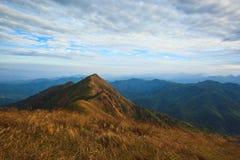 Desengate da paisagem da montanha Fotos de Stock Royalty Free