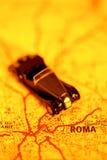 Desengate do carro a Roma fotos de stock royalty free