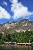 Desengate em Surat-Thani no sul de Tailândia Imagens de Stock