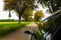 Desengate em um carro Imagem de Stock