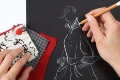 Desenhador de moda foto de stock royalty free