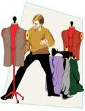 Desenhador de moda Imagens de Stock