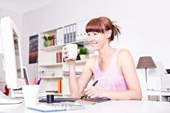 Desenhador de moda Fotos de Stock