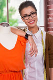 Desenhador de moda bem sucedido Foto de Stock
