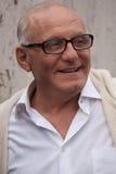 Desenhador de moda Max Azria após seu desfile de moda Fotografia de Stock Royalty Free