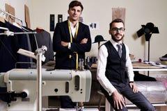 Desenhador de moda moderno Team imagens de stock royalty free