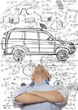 Desenhador do carro Imagens de Stock