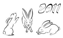 Desenhar nas linhas ilustração stock