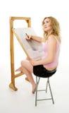 Desenhar no lápis Foto de Stock Royalty Free