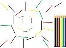 Desenhe e faça o mundo mais belamente Imagens de Stock Royalty Free