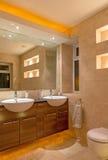 Desenhista Bathroom imagem de stock