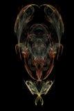 Desenho abstrato do fractal ilustração royalty free