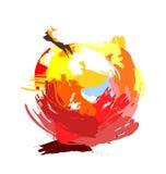 Desenho Apple Fotos de Stock