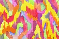 Desenho colorido A Imagens de Stock
