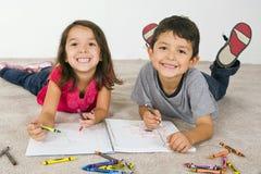 Desenho da criança Imagem de Stock Royalty Free