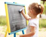 Desenho da criança Imagens de Stock