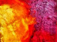Desenho da mão na abstração do óleo Fundo da textura de Grunge Teste padrão do projeto do vintage Papel de parede creativo Arte m ilustração do vetor