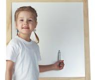 Desenho da menina Imagens de Stock