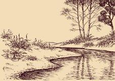 Desenho da paisagem