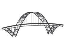 Desenho da ponte de Fremont ilustração do vetor