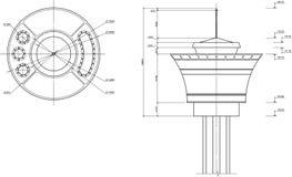Desenho da torre Foto de Stock