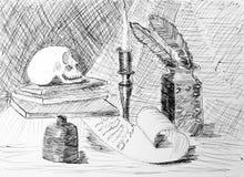Desenho das crianças Fotos de Stock