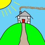 Desenho de Childs ilustração royalty free