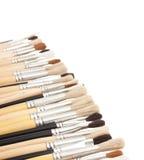Desenho de escova Imagens de Stock