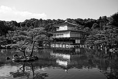 Desenho de Kinkaku-ji Japão imagem de stock