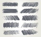 Desenho de lápis Fotografia de Stock