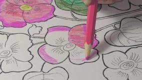 Desenho de lápis da coloração filme