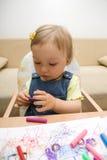 Desenho do bebê Fotografia de Stock Royalty Free