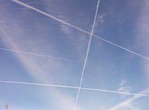 Desenho do céu Foto de Stock Royalty Free