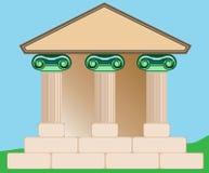 Desenho do edifício clássico. Imagens de Stock Royalty Free