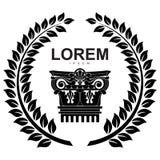 Desenho do logotipo do vetor ilustração stock