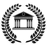 Desenho do logotipo do vetor ilustração royalty free