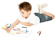 Desenho do menino Imagem de Stock Royalty Free