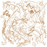Desenho do rabisco Imagens de Stock Royalty Free