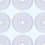 Desenho do sumário do teste padrão do fundo da luz do laço do floco de neve Imagem de Stock