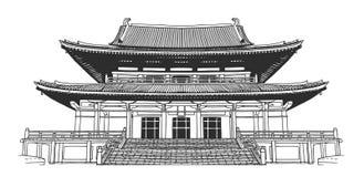 desenho do templo ilustrações vetores e clipart de stock 604